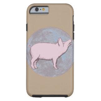 Capa Tough Para iPhone 6 Porco afortunado  