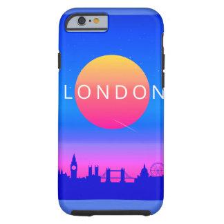 Capa Tough Para iPhone 6 Poster de viagens dos marcos de Londres