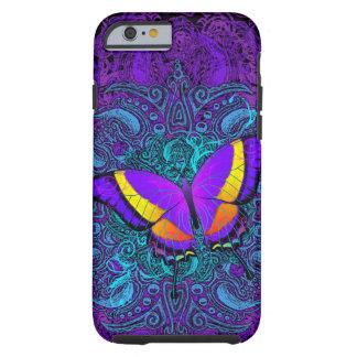 Capa Tough Para iPhone 6 Prazer da borboleta