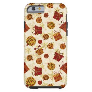 Capa Tough Para iPhone 6 Presentes de época natalícia & enfeites de natal