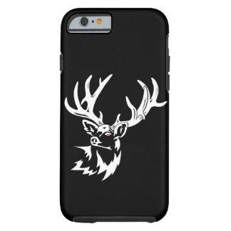Capa Tough Para iPhone 6 Preto de Muley da adrenalina