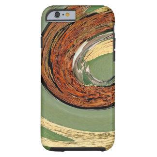 Capa Tough Para iPhone 6 Redemoinho 01.03-Colors da oxidação/Arte