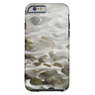 Capa Tough Para iPhone 6 Reserva de pedra do estado de Lobos do ponto da