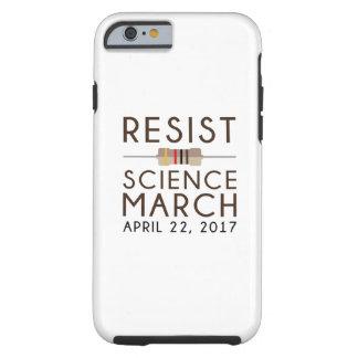 Capa Tough Para iPhone 6 Resista a ciência março