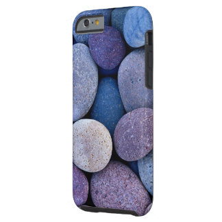 Capa Tough Para iPhone 6 Rochas azuis de pedra