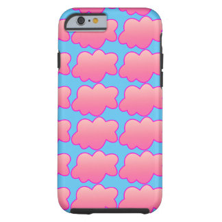 Capa Tough Para iPhone 6 Rosa macio