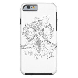 Capa Tough Para iPhone 6 Sereia majestosa
