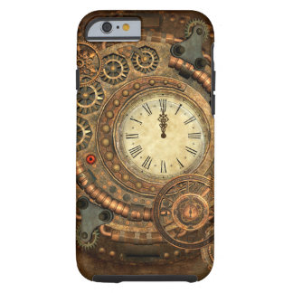 Capa Tough Para iPhone 6 Steampunk, maquinismo de relojoaria maravilhoso