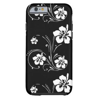 Capa Tough Para iPhone 6 Tatuagem da flor