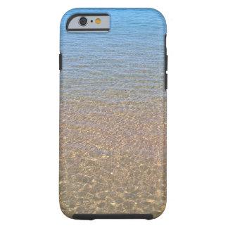Capa Tough Para iPhone 6 Telefone cénico 6 do iphone 6 i da água azul