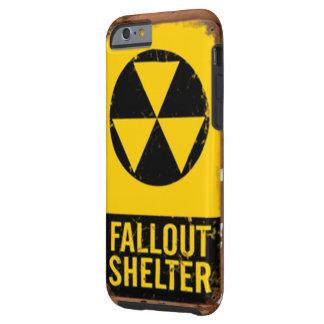 Capa Tough Para iPhone 6 Telefone esperto que olha como um sinal do abrigo