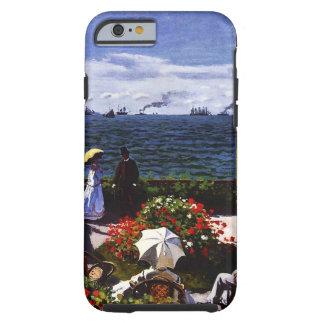 Capa Tough Para iPhone 6 Terraço de Claude Monet-The em Sainte-Adresse