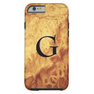 Capa Tough Para iPhone 6 Teste padrão da pedra de gema, olho do tigre do