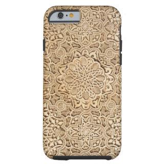 Capa Tough Para iPhone 6 Teste padrão de Alhambra