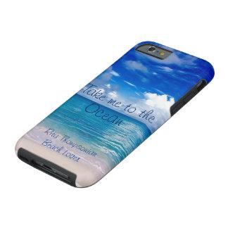 Capa Tough Para iPhone 6 Tome-me ao exemplo do telemóvel do oceano