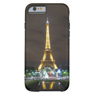 Capa Tough Para iPhone 6 Torre Eiffel na noite, Paris