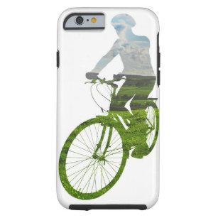 Capa Tough Para iPhone 6 transporte verde, a favor do meio ambiente