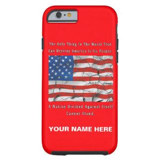 Capa Tough Para iPhone 6 Uma nação dividida