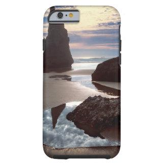 Capa Tough Para iPhone 6 Wayside Espinho-Dado forma da rocha da cara do