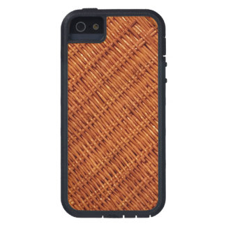 Capa Tough Xtreme Para iPhone 5 Estilo country de vime rústico da cesta do