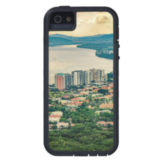 Capa Tough Xtreme Para iPhone 5 Ideia aérea do subúrbio de Guayaquil do plano
