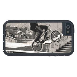 Capa Tough Xtreme Para iPhone 5 Mestre do Wheelie - motociclista de BMX