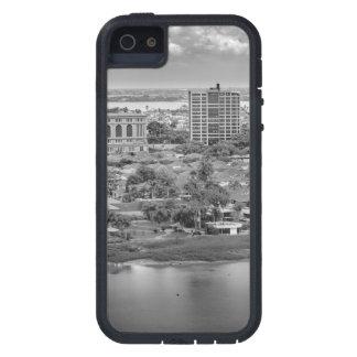 Capa Tough Xtreme Para iPhone 5 Opinião aérea de Guayaquil do plano da janela