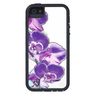 Capa Tough Xtreme Para iPhone 5 Orquídeas