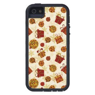 Capa Tough Xtreme Para iPhone 5 Presentes de época natalícia & enfeites de natal