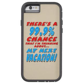 Capa Tough Xtreme Para iPhone 6 99,9% As PRÓXIMAS FÉRIAS (preto)