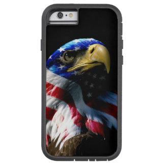 Capa Tough Xtreme Para iPhone 6 Americano patriótico Eagle