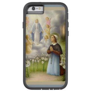 Capa Tough Xtreme Para iPhone 6 Anjos do St. Bernadette Lourdes da Virgem Maria
