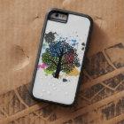 Capa Tough Xtreme Para iPhone 6 Árvore nas cores