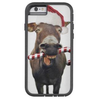 Capa Tough Xtreme Para iPhone 6 Asno do Natal - asno do papai noel - papai noel do