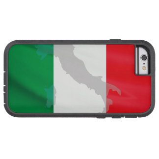 Capa Tough Xtreme Para iPhone 6 bandeira e Italia italianas
