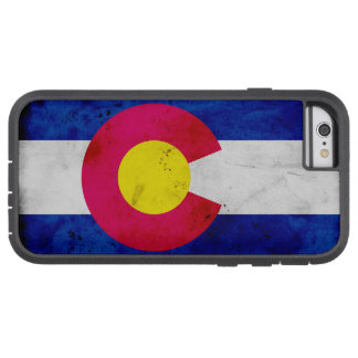 Capa Tough Xtreme Para iPhone 6 Bandeira patriótica do estado de Colorado do
