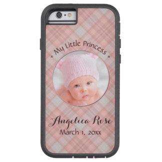 Capa Tough Xtreme Para iPhone 6 Bebé novo minha princesa pequena Cor-de-rosa