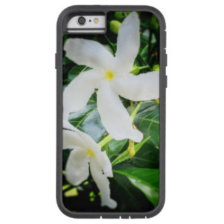 Capa Tough Xtreme Para iPhone 6 Caixa branca do iPhone 6 da flor de Pinwheel