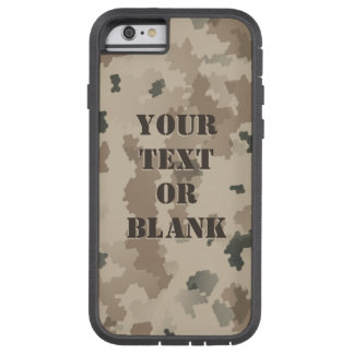 Capa Tough Xtreme Para iPhone 6 Camuflagem do deserto