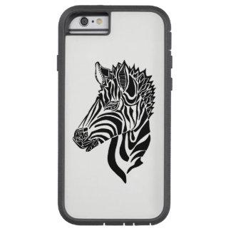 Capa Tough Xtreme Para iPhone 6 Caso abstrato do iPhone 6 da zebra