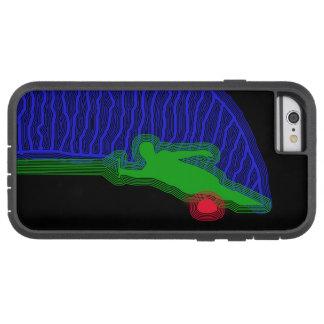 Capa Tough Xtreme Para iPhone 6 Caso do iPhone 6/6s do esqui de água do slalom