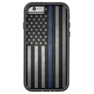 Capa Tough Xtreme Para iPhone 6 caso fino do telemóvel de Blue Line do iPhone