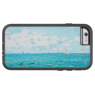 Capa Tough Xtreme Para iPhone 6 Claude Monet a cabine em belas artes do