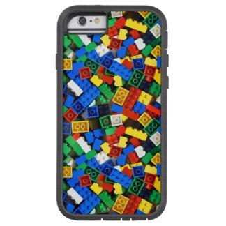 Capa Tough Xtreme Para iPhone 6 Construção dos tijolos da construção dos blocos de