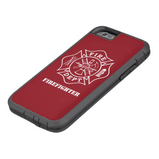 Capa Tough Xtreme Para iPhone 6 Cruz maltesa iPhone6/6s do sapador-bombeiro,