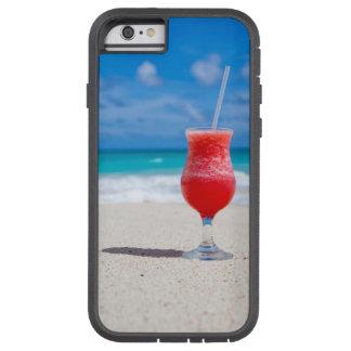 Capa Tough Xtreme Para iPhone 6 Daiquiri da praia e água tropicais de turquesa