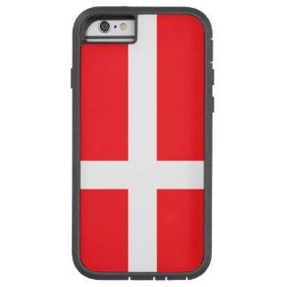 Capa Tough Xtreme Para iPhone 6 Dinamarca, bandeira
