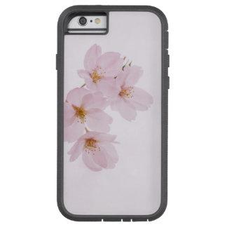 Capa Tough Xtreme Para iPhone 6 Flores de cerejeira bonitas do primavera em Tokyo