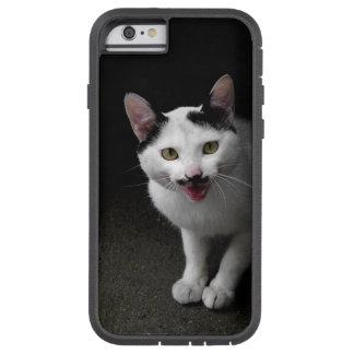 Capa Tough Xtreme Para iPhone 6 Gato com bigode