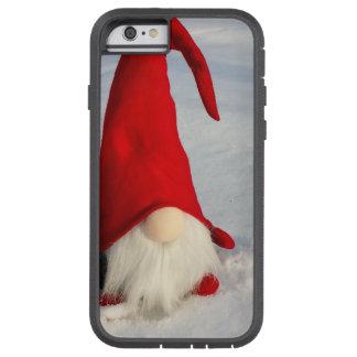 Capa Tough Xtreme Para iPhone 6 Gnomo escandinavo do Natal